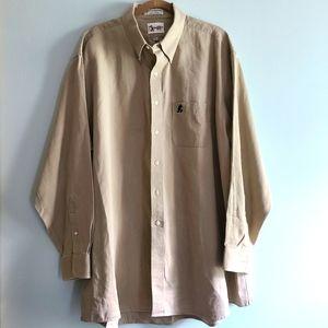 Walt Disney World Mens Sz XXL Long Sleeve Shirt Bu